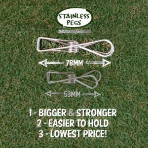 compare reviews stainless steel pegs
