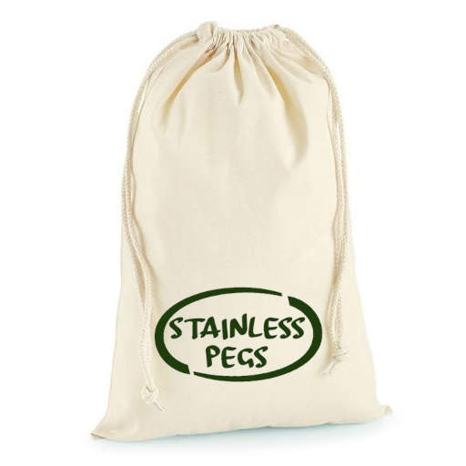 Stainless Pegs Carry Pouch
